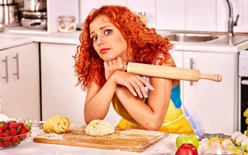 жена на кухне не умеет готовить