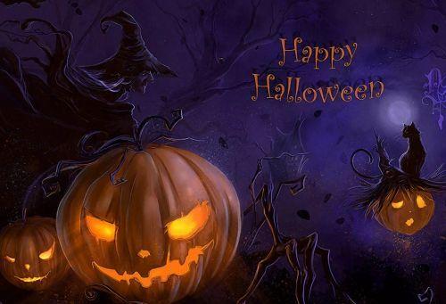 Хэллоуин поздравление (2)