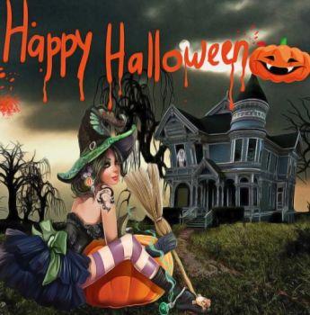Хэллоуин поздравление (6)