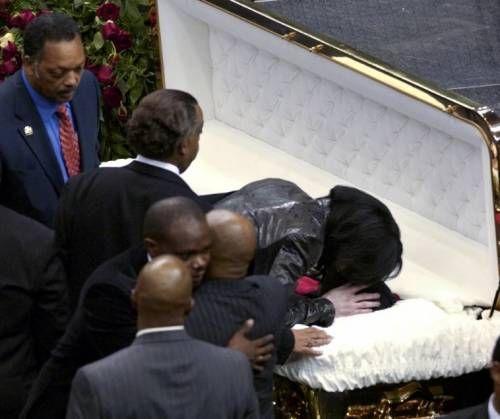 джексон похороны