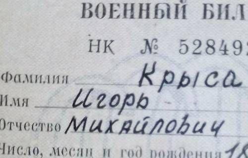 Игорь Крыса