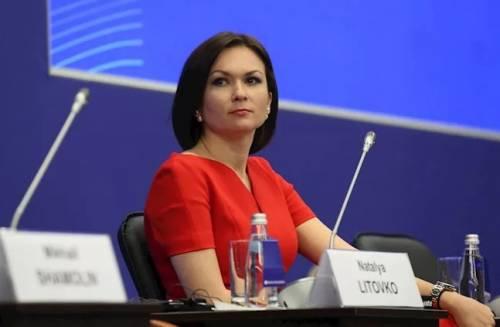 Наталья Литовко на встрече