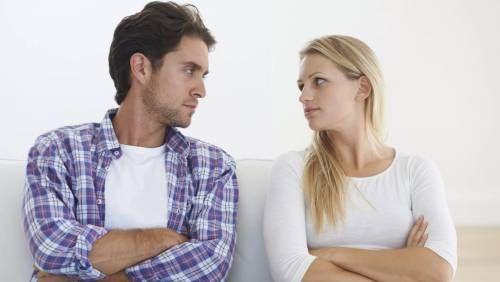 Недопонимание с супругой