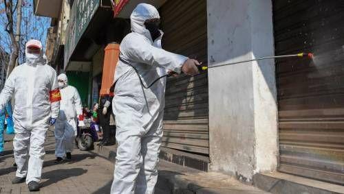 Обработка стен от вируса covid 19