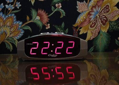 цифры на часах 22 22