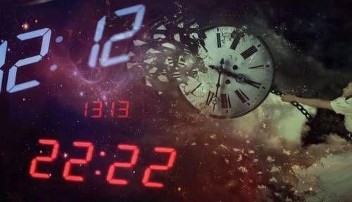 цифры на часах одинаковые