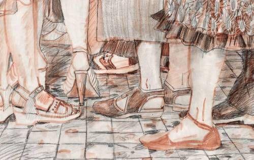 Ноги людей