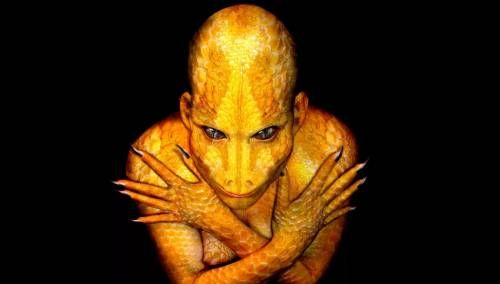 Рептилоид обыкновенный желтый