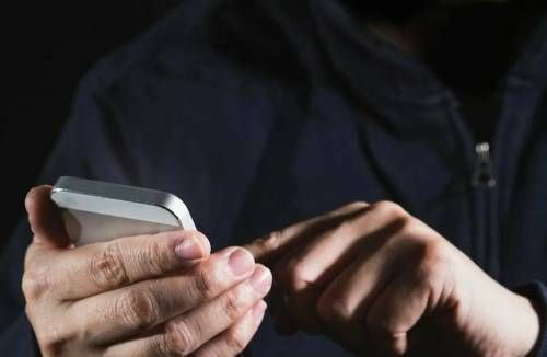 телефонный шантаж в руках